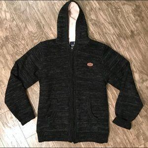Buffalo David Button Faux Fur Hooded Jacket XL